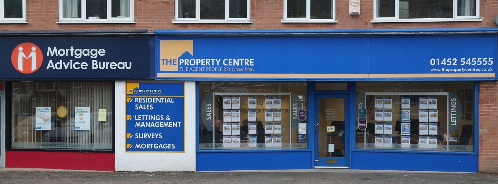 The Property Centre's Tuffley Office