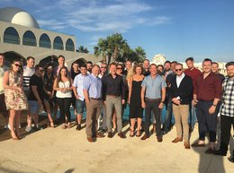The Property Centre's top performing staff on their annual trip to Portugal