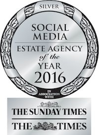 Silver -  Social Media estate agency of the year - The Sunday Times & The Times